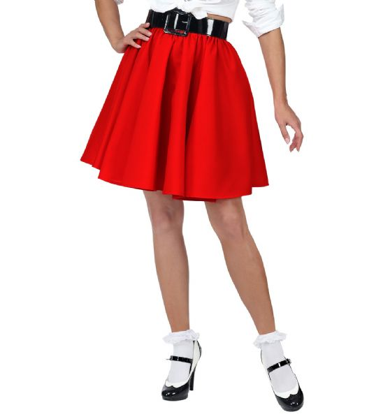 Gonna Rock 'N' Roll Skirt 50s Fancy Dress